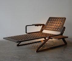 Tom Dixon Flamecut series chaise