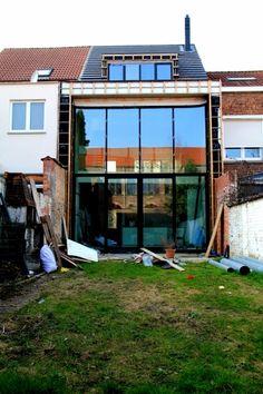GANSHOREN, Brussel, Eengezinswoning koppelbouw - rijwoning, Renovatie,