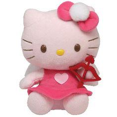 TY Beanie Baby - HELLO KITTY (CUPID)