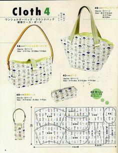 2 bolsos japoneses