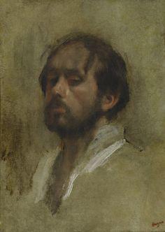 Edgar Degas AUTOPORTRAIT