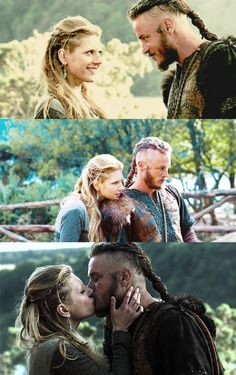 Idea for mom and dad so we can match with the kids. Vikings- RAGNAR AND LAGERTHA - <3