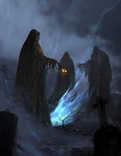Consecrated in Darkness, Ramses Melendez on ArtStation at https://www.artstation.com/artwork/yAwk8