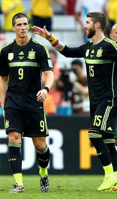 Fernando Torres and Sergio Ramos