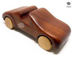 Jouet en bois voiture Cabrio