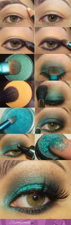 The rule for hooded eyes stands that you should use only mat colors, and…