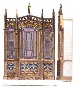 Regency Household: A Bookcase, via Regency Reader