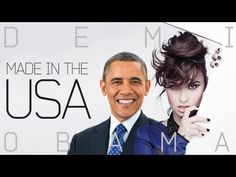 Barack Obama Singing Made in the USA by Demi Lovato ... soo funny!!