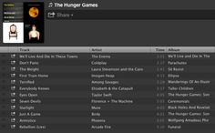 SONGS TO FEEL LIKE YOU'RE IN THE HUNGER GAMES
