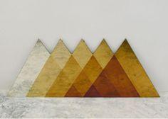 Cool geometric mountain idea...