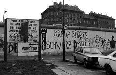 The wall in the late seventies in Kreuzberg