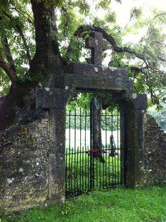 Entrance to Famine Graveyard, Mullingar, Co. Westmeath