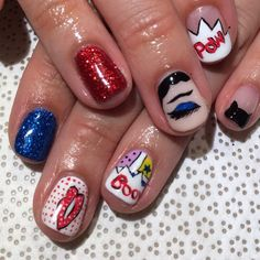 #christinechang #lichtenstein #nailart #gelnail #vanityprojects  (at Vanity Projects)