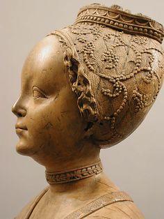 Sainte Barbe. Date: ca. 1510 Culture: Allemand Medium: Tilleul Dimensions: Dans l'ensemble: 24 1/8 x 8 13/16 x 5 3/16 po (61,2 x 22,4 x 13,2 cm) - METmuseum