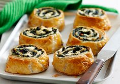 For a delicious pastry dish, try our vegetarian Spinach and Feta Scrolls.