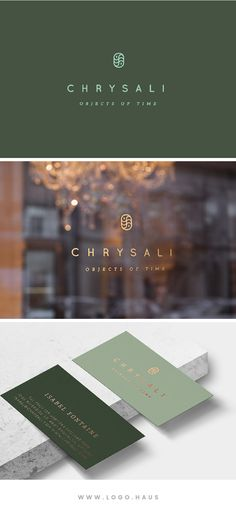 The Chrysali logo kit is available from Logo.Haus.