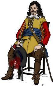 cavalier soldier English civil war