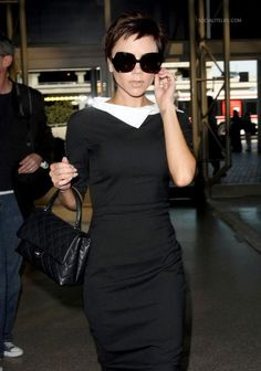 Annoyingly Victoria Beckham does do the Audrey look rather well