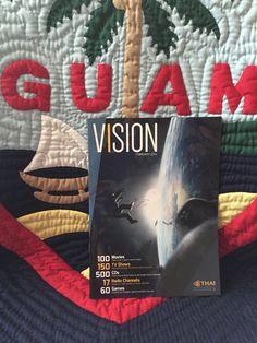 "A ""VISION"" .. : ) https://www.facebook.com/thaiguam.thaiairways"