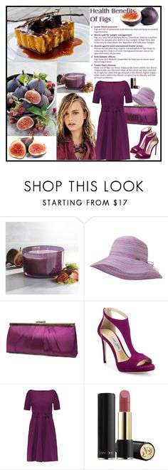 """FIGS"" by fantasiegirl ❤ liked on Polyvore featuring Pier 1 Imports, Outdoor Research, Gunne Sax By Jessica McClintock, Jimmy Choo, Raoul and Lancôme"