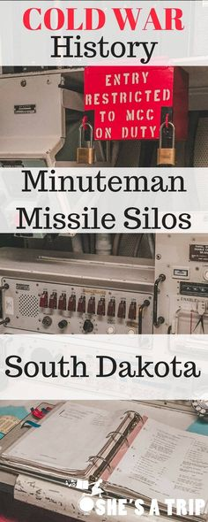 Cold War History: Visiting the Minuteman Missile Site in South Dakota. A fun thing to do near Mount Rushmore and Badlands National Park. A must visit for history buffs.