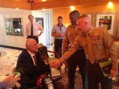 79-year-old military veteran Hal Faulkner has had his discharge record changed from 'undesirable' to 'honorable' 58 years after he was kicked out of the Marines for being gay