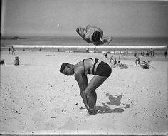 Beach Stunts, 1930s