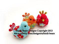 The Bluebird of Happiness African Flower Crochet Pattern