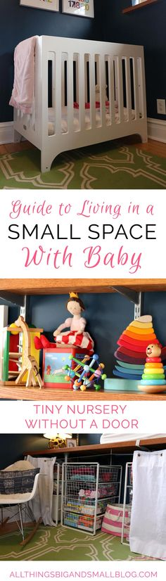 Small Space Living: How to Raise a Baby in a Small Space
