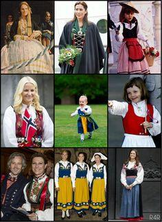 R4R Photo Spotlight: National Dress Part I*foreign or domestic:  Anne-Marie, Mary, Charlotte, Mette-Marit, Estelle, Ingrid-Alexandra, Märtha Louise, Madeleine, Victoria, Sylvia, Madeleine