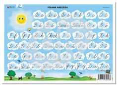 Písaná ABECEDA | datakabinet.sk Map, Awesome, Kids, Google, Literature, Young Children, Children, Be Awesome, Kid