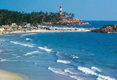 Kovalam - considered one of the best natural beaches in the world.