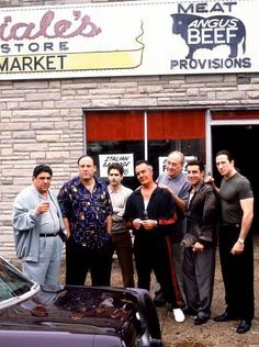 The Sopranos Mafia Gangsters Poster Size (50x75cm)
