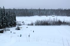View of Hay Lake from the top of the hill Northwest Territories, North West, Canada, Outdoor, Image, Outdoors, Outdoor Games, Outdoor Life