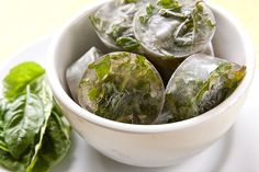 How to Freeze Fresh Herbs    Soft herbs that do not dry well (basil, cilantro, parsley, marjoram, etc.) can be frozen. Frozen herbs can keep their fragrance for 3-4 months. Us in soups, stews and sauces.    Finely chop the herbs and put into ice cube trays. Cover with olive oil or water and freeze. When frozen pop out and put in a freezer bag labeled with herb name.