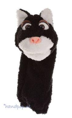 Living Puppets handpop Oete de kat - Handpoppen.nl