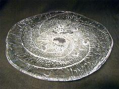 "TAPIO WIRKKALA - Glass sculpture ""Pilkkiavanto"" 0549 (Ice-fishing hole) designed 1970 for Iittala, Finland. [Ø 67 cm] Glass Design, Design Art, Fishing Hole, Ice Fishing, Lassi, Scandinavian Design, Fused Glass, Finland, Glass Art"
