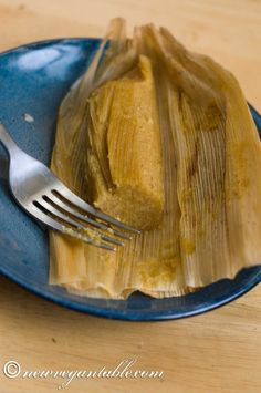 Vegan Pumpkin Tamales! Let's get married.
