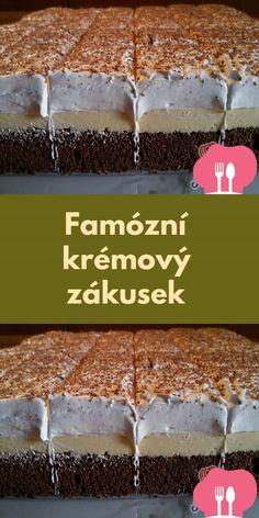 Köstliche Desserts, Delicious Desserts, Creme Dessert, Tiramisu, Pudding, Sweets, Breakfast, Health, Recipes