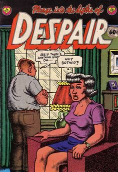 Roots of the Blues- Despair. I have this comic book.