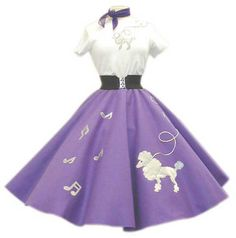 Marti H.'s Story Poodle skirts, 1951.: OurStory.com - Capture your stories, save them permanently.