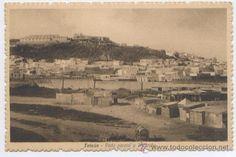 Tetuán, Vista parcial y Alcazaba - Colec. Martínez Sanz