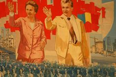 Propaganda from Nicolae and Elena Ceausescu's era in Romania Caryl Churchill, Romanian People, Communist Propaganda, Art Vintage, Communism, Interesting History, Vintage Travel Posters, Eastern Europe, Mammals