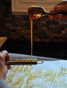 How to Make Caramel Spirals by duhlicious .. One day I'll try!