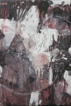 Ashita no wasuremono  (2011) Oil on canvas, ink, pigment, charcoal, pencil 1360x930x60mm by mayakonakamura, via Flickr