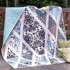 Diamond Damask Quilt from Joel Dewberry