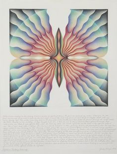'Rejection Fantasy Drawing' by Judy Chicago.