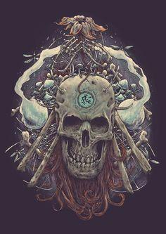 Skull Part I on Behance
