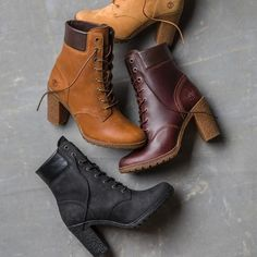 Shop Timberland women's boots, shoes, clothing & accessories at our official US online store today. Design your own boots or boat shoes & shop our collection. Timberland Heel Boots, Timberland Waterproof Boots, Timberland Outfits, Timberland Fashion, Timberland Boots For Women, Timberlands Women, High Heel Boots, Heeled Boots, Shoe Boots