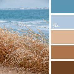 Color Palette No. 657 Color Palette No. Brown Color Schemes, Color Schemes Colour Palettes, Blue Colour Palette, Color Combos, Beach Color Palettes, Brown Color Palettes, Popular Color Schemes, Beige Colour, Sea Colour